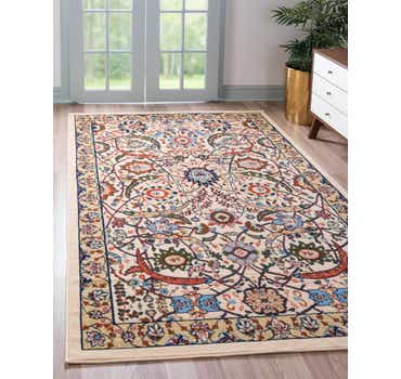 Image of 2' 2 x 3' Isfahan Design Rug