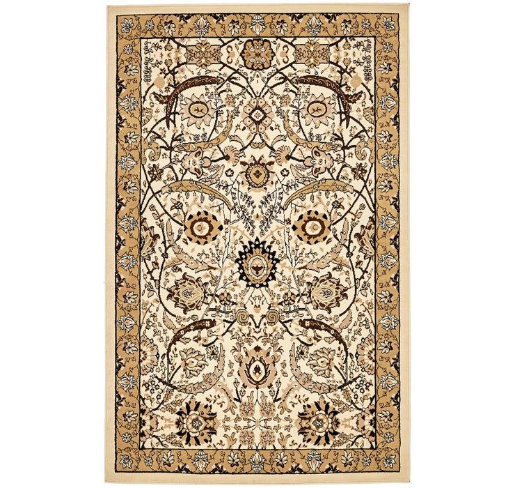 5' x 8' Isfahan Design Rug