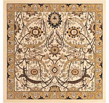 Image of  Ivory Neda Square Rug