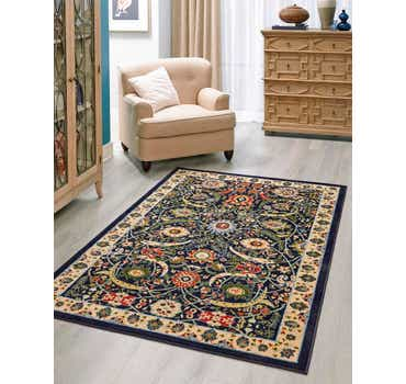 Image of 5' x 8' Isfahan Design Rug