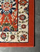 2' 7 x 10' Isfahan Design Runner Rug thumbnail