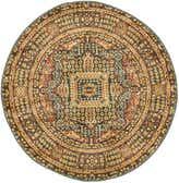 3' 3 x 3' 3 Mamluk Round Rug thumbnail