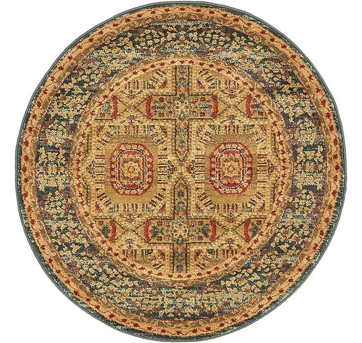 100cm x 100cm Mamluk Round Rug