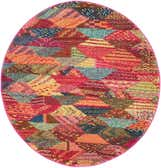 100cm x 100cm Santa Fe Round Rug thumbnail