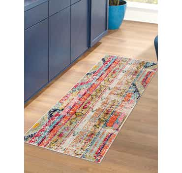 Image of 2' 2 x 6' 7 Santa Fe Runner Rug