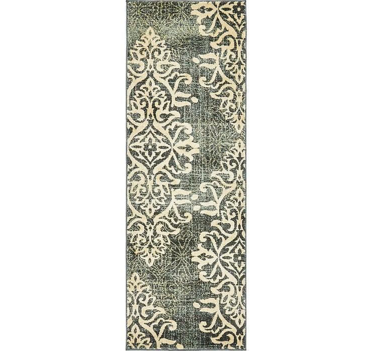 65cm x 183cm Damask Runner Rug