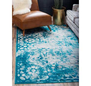 Image of  Turquoise Monte Carlo Rug