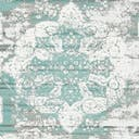 Link to Turquoise of this rug: SKU#3134081