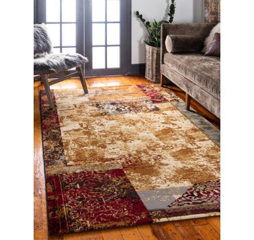5' x 8' Coffee Shop Rug main image