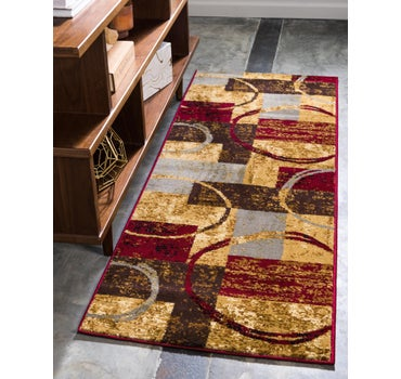 2' 2 x 6' Coffee Shop Runner Rug main image
