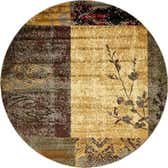 8' x 8' Coffee Shop Round Rug thumbnail