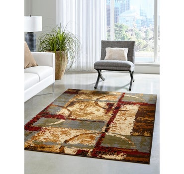 8' x 11' 2 Coffee Shop Rug main image