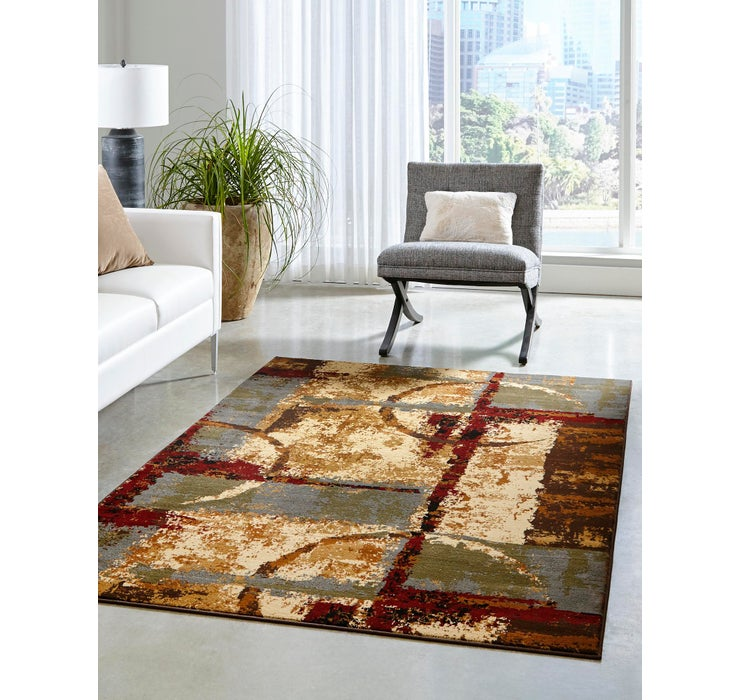 5' x 8' Coffee Shop Rug