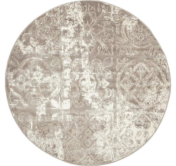 4' x 4' Modern Classical Round ...