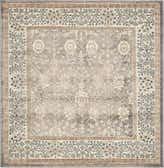5' x 5' Vienna Square Rug thumbnail