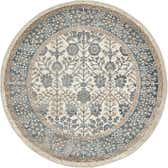 122cm x 122cm Vienna Round Rug thumbnail