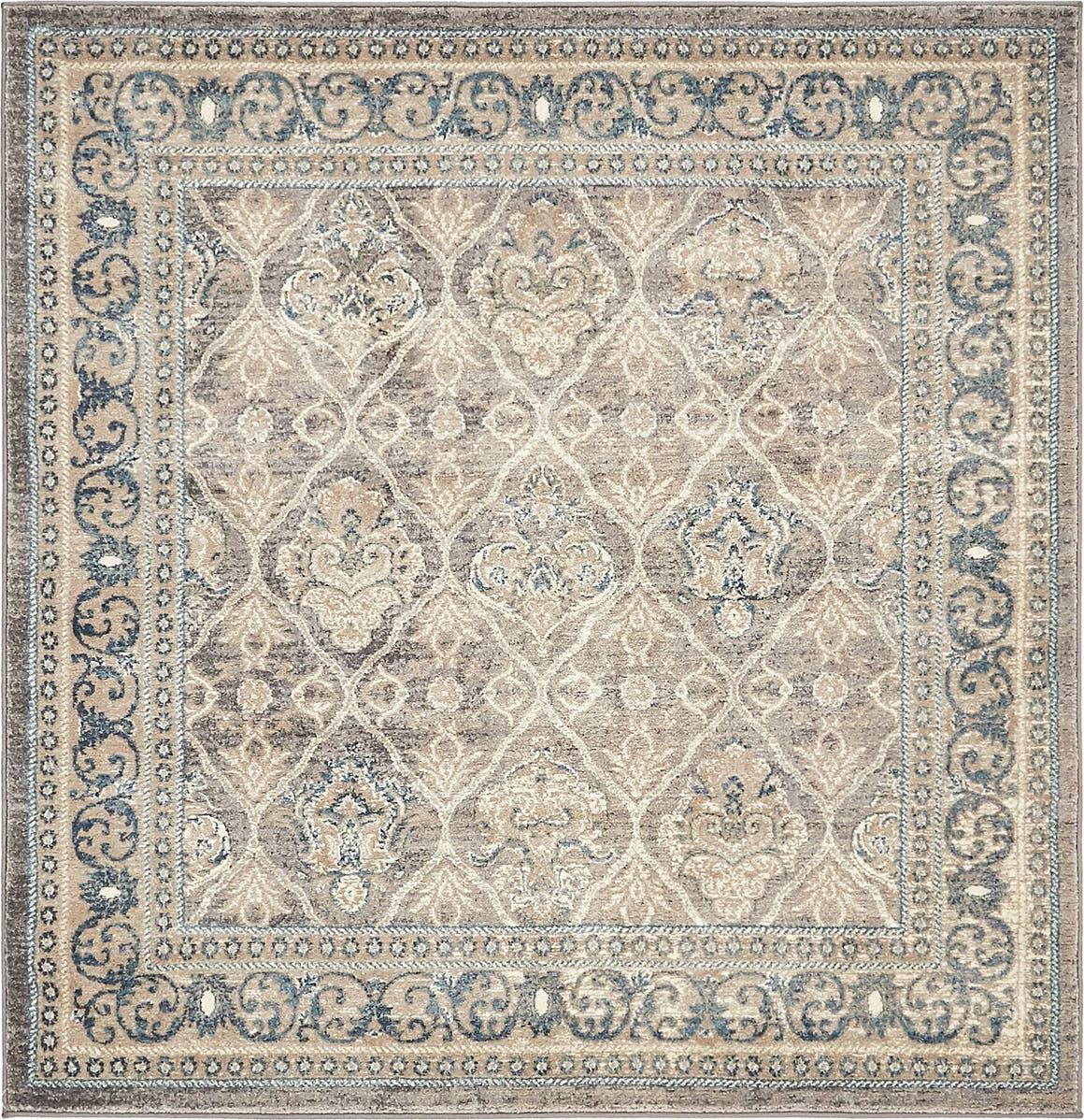 5' x 5' Vienna Square Rug main image