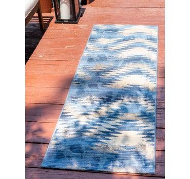 2' x 6' Outdoor Modern Runner Rug