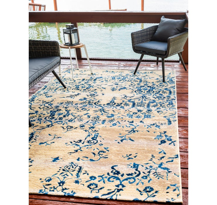 Image of 2' 2 x 3' Outdoor Botanical Rug