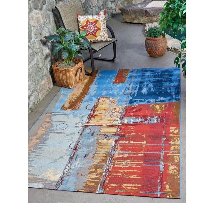 122cm x 183cm Outdoor Modern Rug