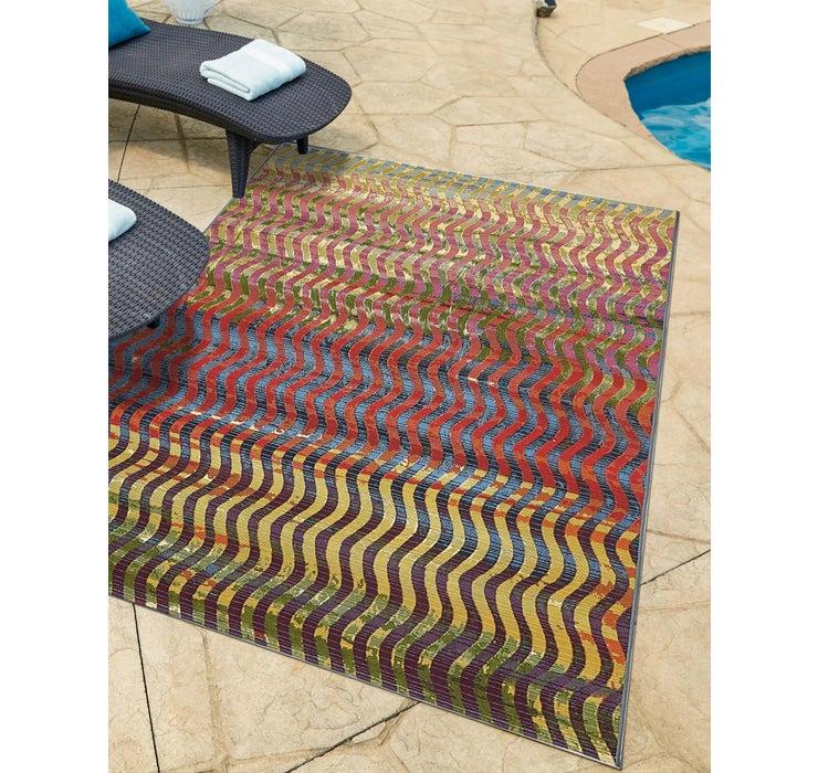 2' 2 x 3' Outdoor Modern Rug