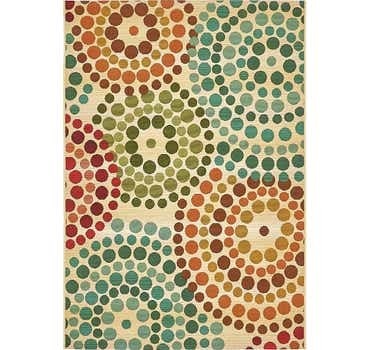 Image of  Beige Outdoor Modern Rug