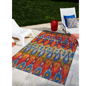 Image of  Multi Outdoor Modern Rug
