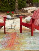 8' x 8' Outdoor Modern Square Rug thumbnail