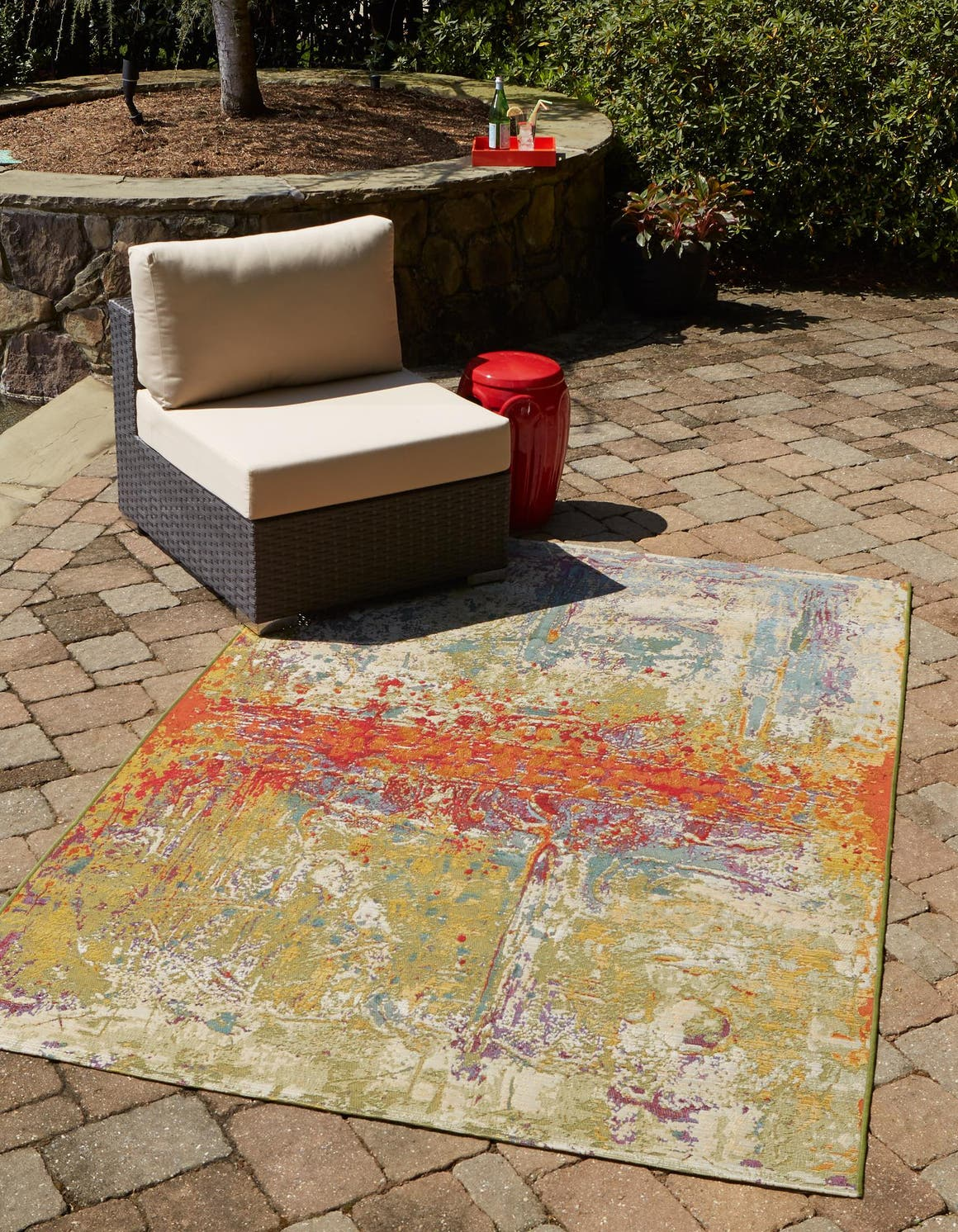 10' x 14' Outdoor Modern Rug main image