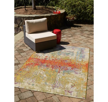 3' 3 x 5' 3 Outdoor Modern Rug main image