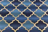 6' x 6' Outdoor Trellis Square Rug thumbnail
