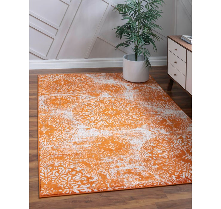Image of  Orange Monte Carlo Rug