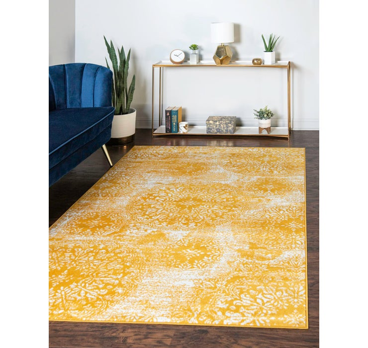 Yellow Monte Carlo Rug