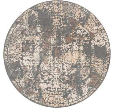 Image of  Gray Mojave Round Rug