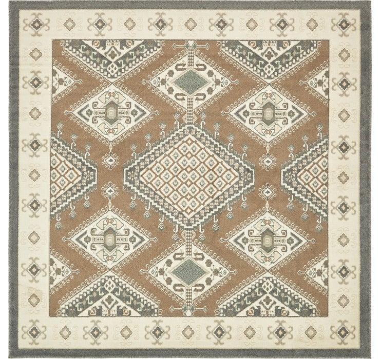 245cm x 245cm Navajo Square Rug