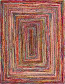 275cm x 365cm Braided Chindi Rug thumbnail