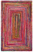 5' x 8' Braided Chindi Rug thumbnail