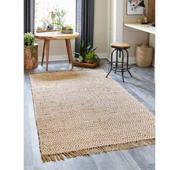 Image of  Natural Braided Jute Rug