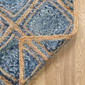 100cm x 152cm Braided Jute Rug thumbnail image 8