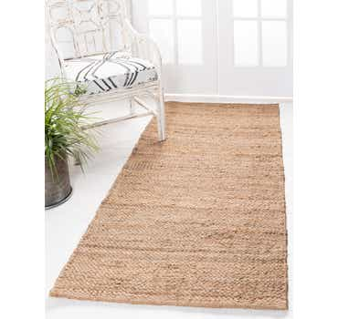 Image of  Natural Chunky Jute Runner Rug