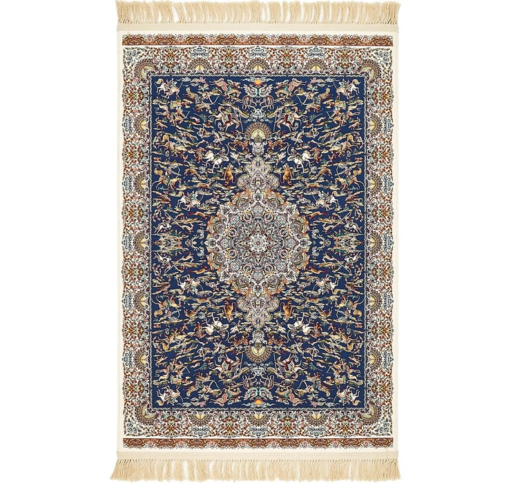 Dark Blue Dynasty Rug