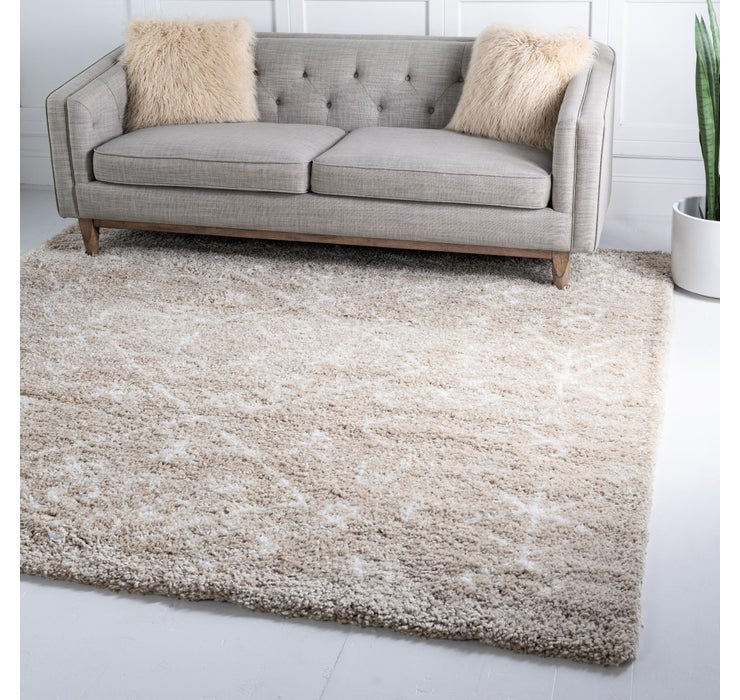 245cm x 245cm Marrakesh Shag Square Rug