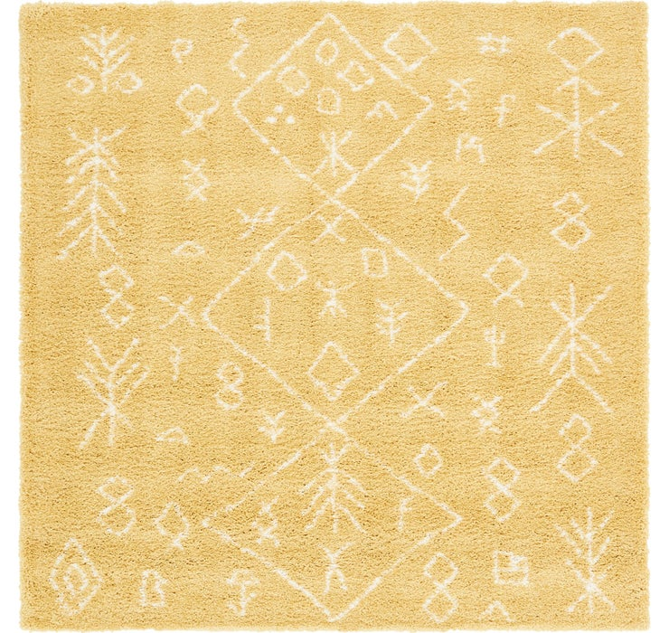 8' x 8' Moroccan Shag Square Rug