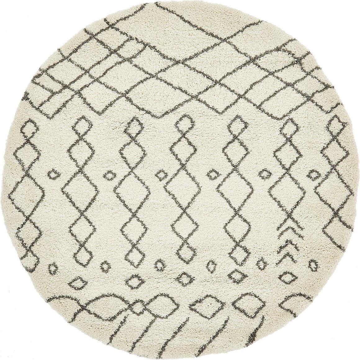 8' x 8' Marrakesh Shag Round Rug main image