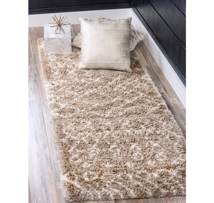 2' 7 x 6' Marrakesh Shag Runner Rug
