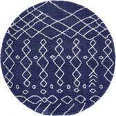 245cm x 245cm Marrakesh Shag Round Rug thumbnail