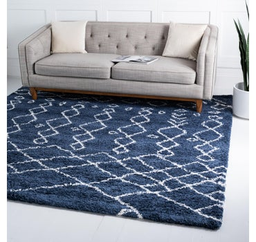 8' x 8' Marrakesh Shag Square Rug main image