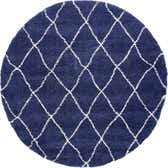 8' x 8' Marrakesh Shag Round Rug thumbnail
