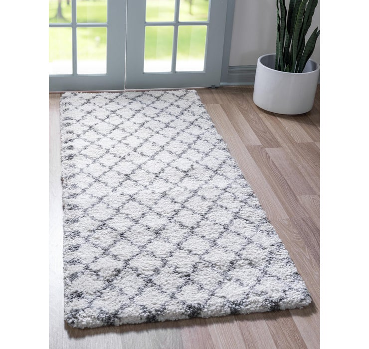 Image of 2' 7 x 6' Marrakesh Shag Runner Rug