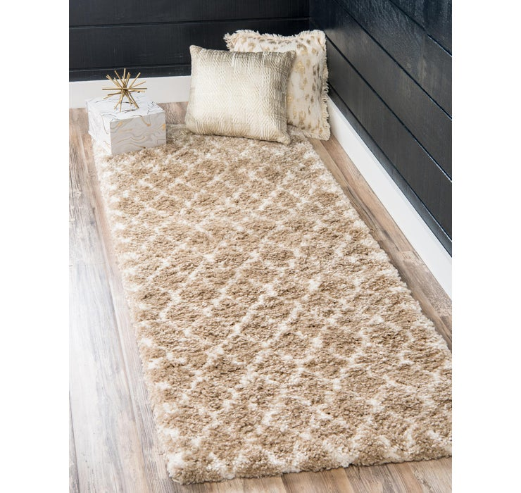 80cm x 183cm Marrakesh Shag Runner Rug